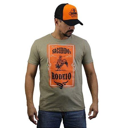 Camiseta Sacudido´s - Rodeio - Charuto mescla