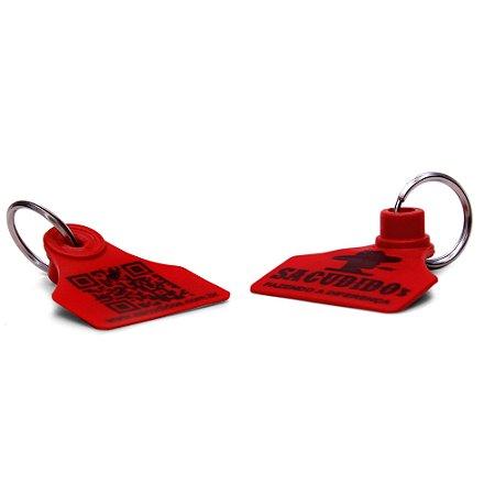 Chaveiro Brinco de Boi Sacudido´s - Vermelho