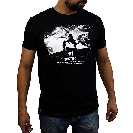 Camiseta Sacudido's - Cavalo - Preto
