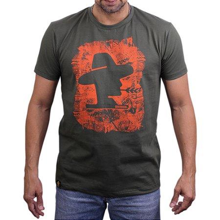 Camiseta Sacudido´s - Logo - Verde Musgo