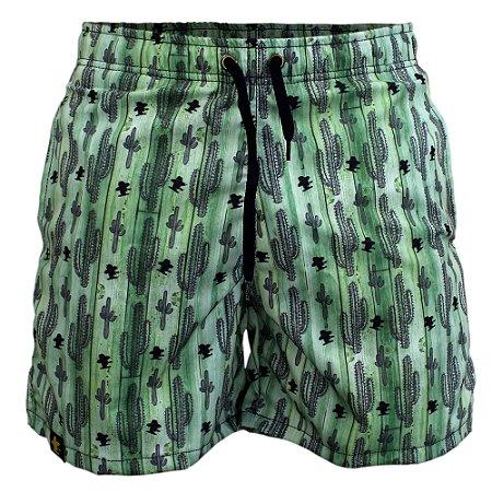 Short Sacudido's Cactos - Verde
