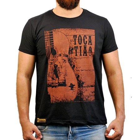 Camiseta Sacudido´s - Toca Tião - Preto