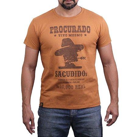Camiseta Sacudido's - Procurado - Desert