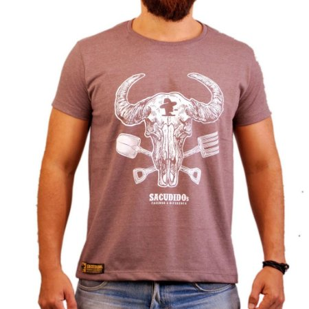 Camiseta Sacudido's - Gadanho Nova - Café Mescla