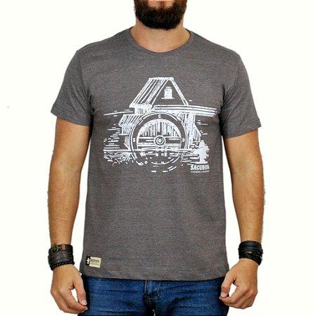 Camiseta Sacudido's - Celeiro - Marrom