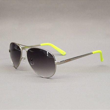 Óculos Sacudido´s - Aviador Feminino - Preto / Amarelo