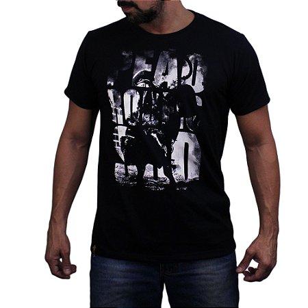 Camiseta Sacudido's - Peão de Rodeio - Preto