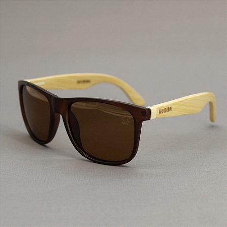 Óculos Sacudido´s - Bambu - Lente Marrom