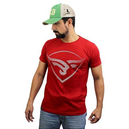 Camiseta Sacudido's - Boi Estilizado - Rubro