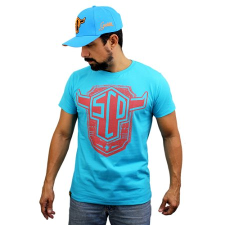 Camiseta Sacudido's - Boi Estilizado - Paradise