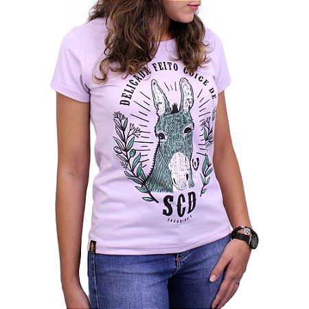 Camiseta Sacudido's Feminina - Coice de Mula-NINNA