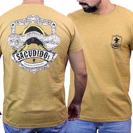 Camiseta Sacudido´s - Cela de Alpaca - Trigo