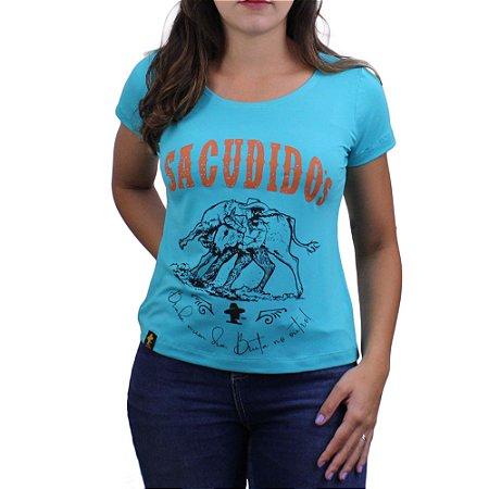 Camiseta SCD's Viscolycra Fem.- Braba - Verde Agua