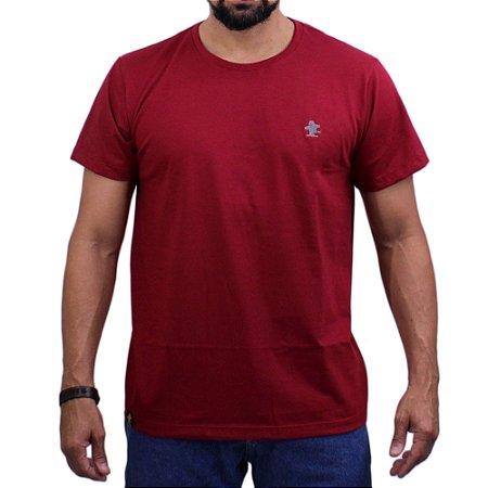 Camiseta Sacudido's - Básica - Rubi /Mescla Escuro