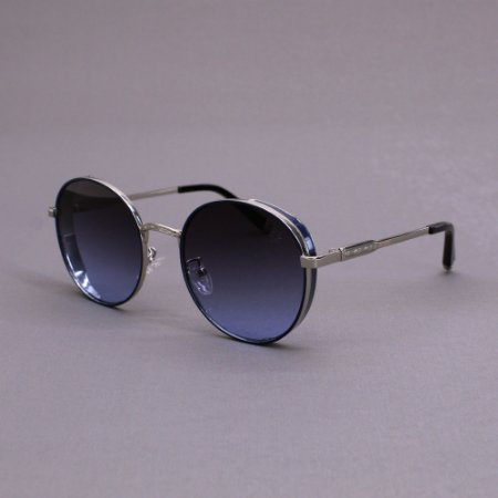 Óculos Sacudido´s - Metal Redondo - Lente Azul
