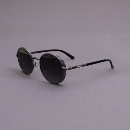 Óculos Sacudido´s - Metal Redondo - Niquel -Preto