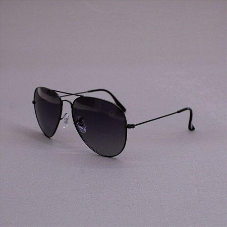 Óculos Sacudido´s - Aviador  Fino - Preto