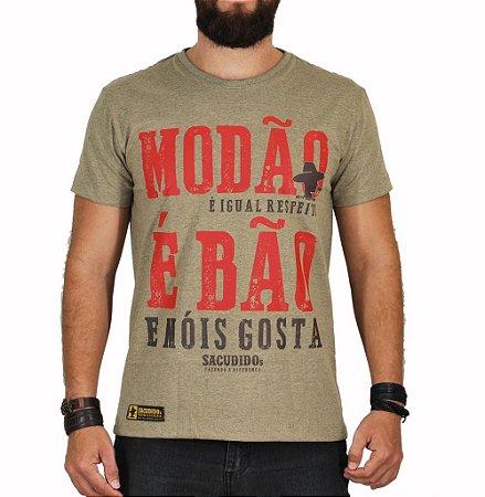 Camiseta Sacudido's Modão é Bão Charuto