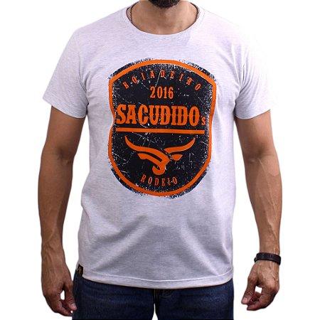 Camiseta Sacudido's - Rodeio - Mescla Escuro