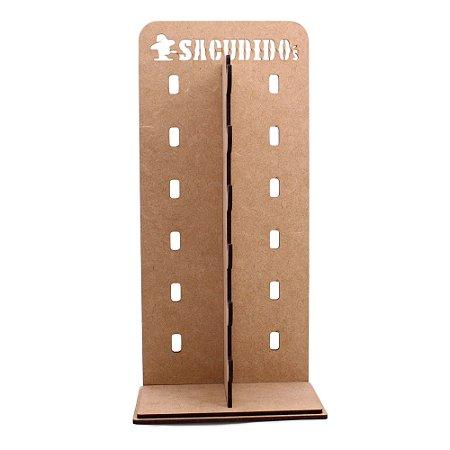 Expositor de 6 Óculos - Sacudido's - MDF Amadeirado