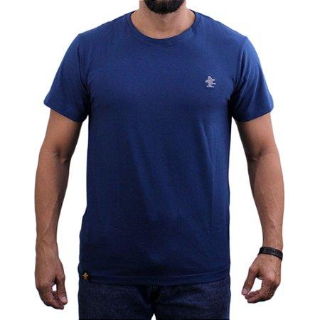 Camiseta Sacudido's - Básica - Náutico-Cinza