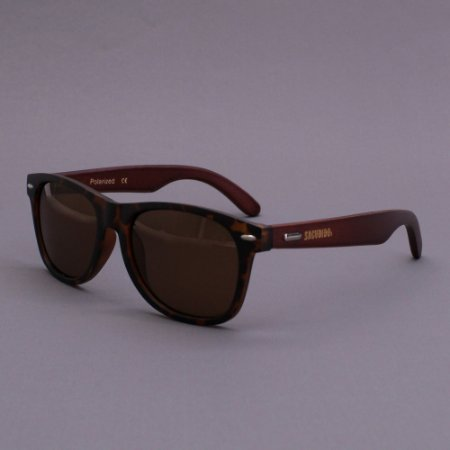 Óculos Sacudido´s - Bambu Marrom - Tartaruga