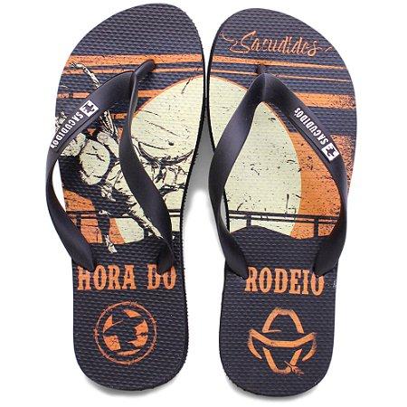 Chinela de Borracha Sacudido´s - Hora do Rodeio