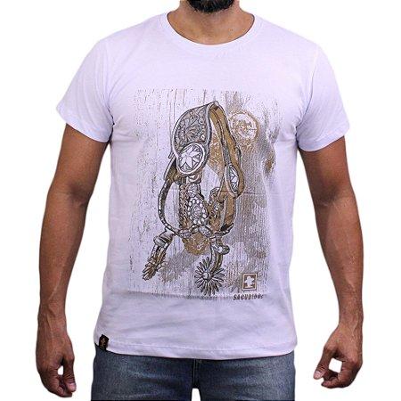 Camiseta Sacudido's - Espora - Branco