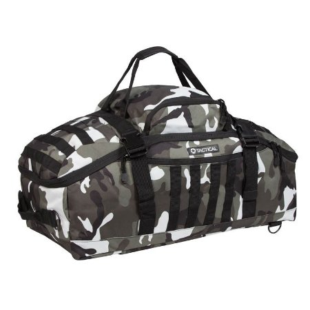 Mala Expedition 70L Camuflado Choque Invictus Tactical