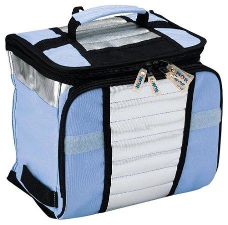 Bolsa Térmica Ice Cooler 7,5L Azul Mor