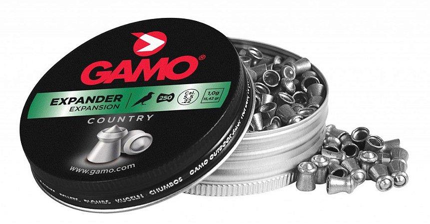 Chumbinho Expander 4,5mm 250 Unidades Gamo