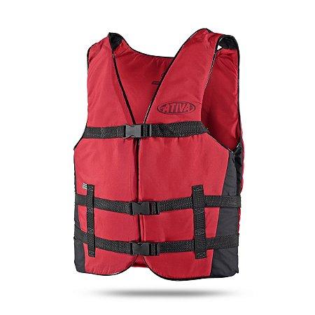 Colete Salva-Vidas Canoa para 90 kg Ativa