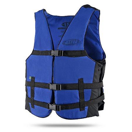 Colete Salva-Vidas Canoa para 100 kg Ativa