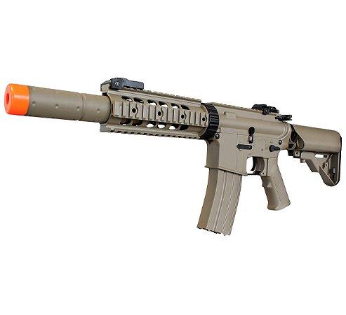 Rifle Airsoft M4A1 Tan Cyma