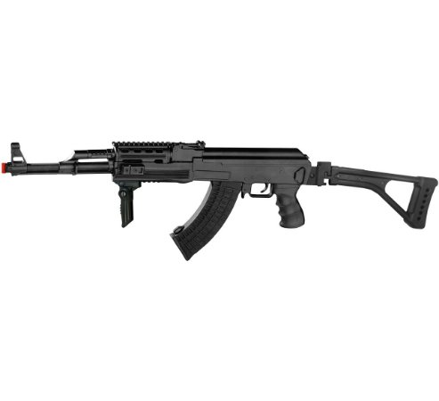 Rifle Airsoft Ak47 Tactical Elétrica Cyma