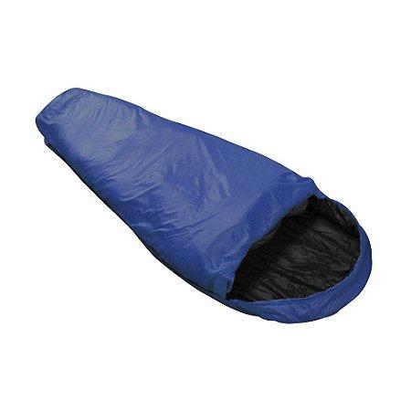 Saco De Dormir Micron Azul e Preto NTK