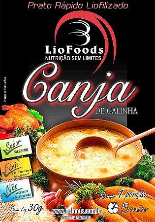 REFEIÇÃO CANJA DE GALINHA LIOFOODS NTK