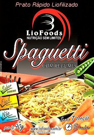 Refeição Spaguetti Com Legumes Liofoods NTK