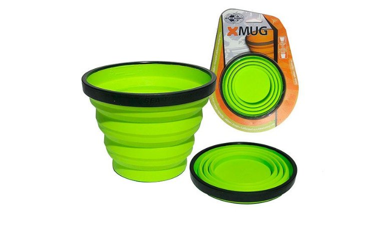 CANECA RETRÁTIL XMUG VERDE - SEA TO SUMMIT