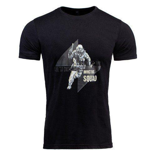 T-shirt Concept Blive Invictus