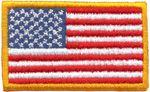 Patch Bandeira USA Oficial Média