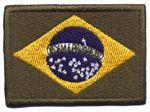 Patch Bandeira do Brasil Média