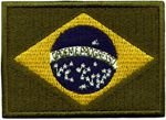 Patch Bandeira do Brasil Grande