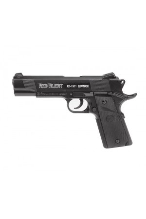 PISTOLA CO2 RED ALERT RD-1911 BLOWBACK 4,5MM