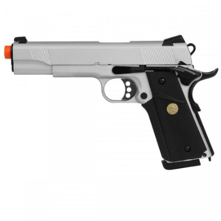 Pistola Airsoft GBB Colt 1911 Cal. 6mm Double Bell modelo 728Y