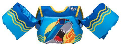 Colete Salva-Vidas Kids Homologado - Crazy Shark Prolife