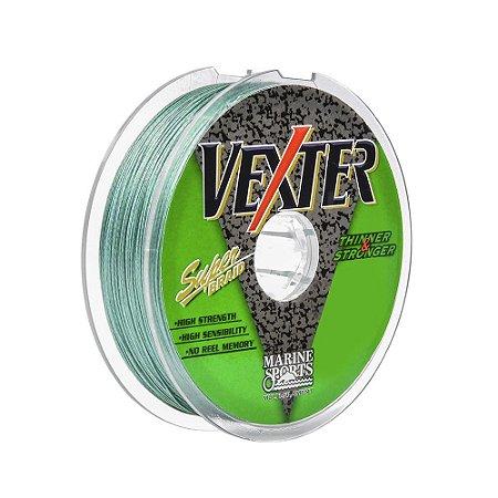 Linha Multifilamento Vexter 100M 0,19mm 20lbs Marine Sports