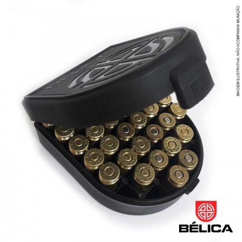 Porta Munição para os Calibres .40|7,65|38|9mm|380 bélica
