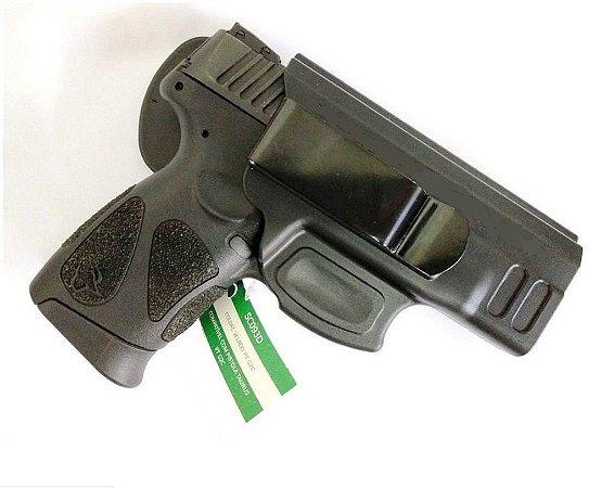 Coldre Velado em Polímero Para Pistola G2c Só coldres