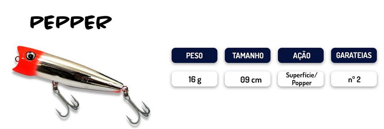 Isca Artificial 9cm Pepper KV